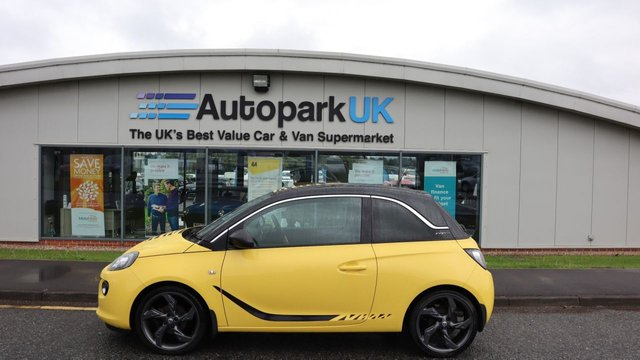 USED 2013 13 VAUXHALL ADAM 1.4 SLAM 3d 98 BHP LOW DEPOSIT OR NO DEPOSIT FINANCE AVAILABLE . COMES USABILITY INSPECTED WITH 30 DAYS USABILITY WARRANTY + LOW COST 12 MONTHS ESSENTIALS WARRANTY AVAILABLE FROM ONLY £199 (VANS AND 4X4 £299) DETAILS ON REQUEST. ALWAYS DRIVING DOWN PRICES . BUY WITH CONFIDENCE . OVER 1000 GENUINE GREAT REVIEWS OVER ALL PLATFORMS FROM GOOD HONEST CUSTOMERS YOU CAN TRUST .