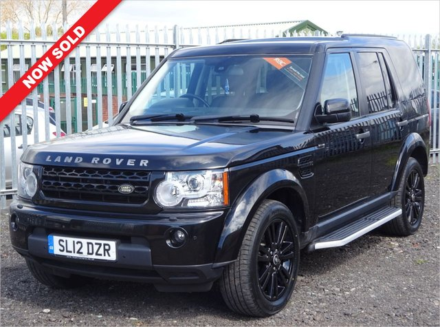 USED 2012 12 LAND ROVER DISCOVERY 3.0 4 SDV6 XS 5d 255 BHP 8 SERVICE STAMPS / HUGE SPEC