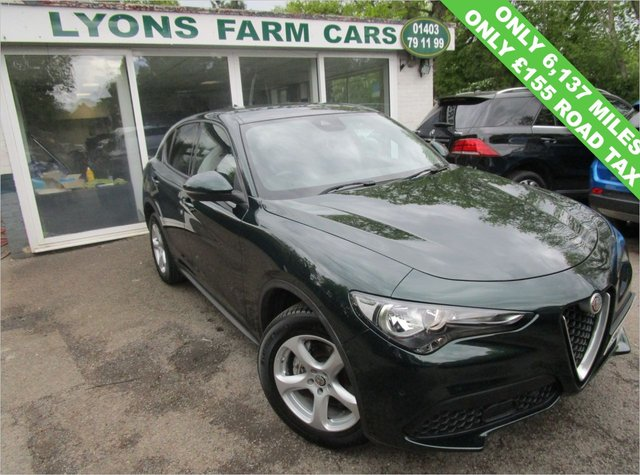 USED 2019 69 ALFA ROMEO STELVIO 2.0 TB SUPER AWD 5d 200 BHP AUTOMATIC ALL WHEEL DRIVE *Only £155 Road Tax* Only 6,137 miles covered from new by One Owner! Serviced by Alfa Romeo in November 2020 @ 5,561 miles. Balance of Alfa Romeo Manufacturer Warranty + MOT until September 2022. Automatic. All Wheel Drive.