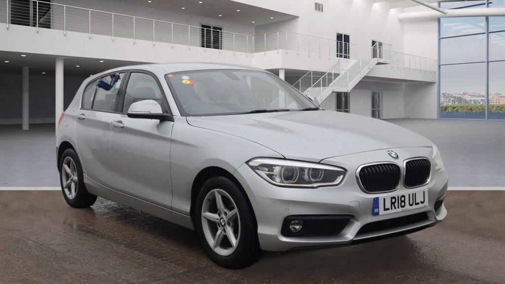 USED 2018 18 BMW 1 SERIES 1.5 116D SE BUSINESS 5d 114 BHP +SAT NAV +DAB +PARKING SENSORS