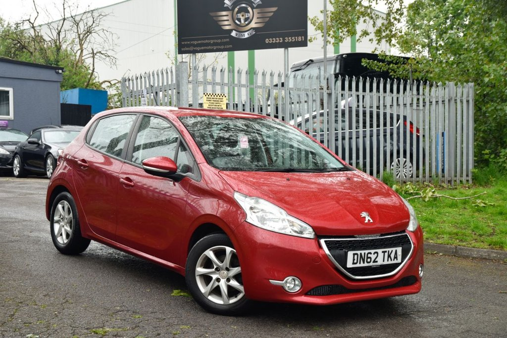 USED 2013 62 PEUGEOT 208 1.4 ACTIVE HDI 5d 68 BHP