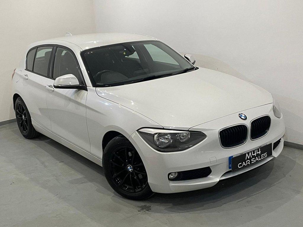 USED 2013 13 BMW 1 SERIES 1.6 116D EFFICIENTDYNAMICS 5d 114 BHP £0 Road Tax / Isofix / Aux / Alloy Wheels / Bluetooth / Dab Radio