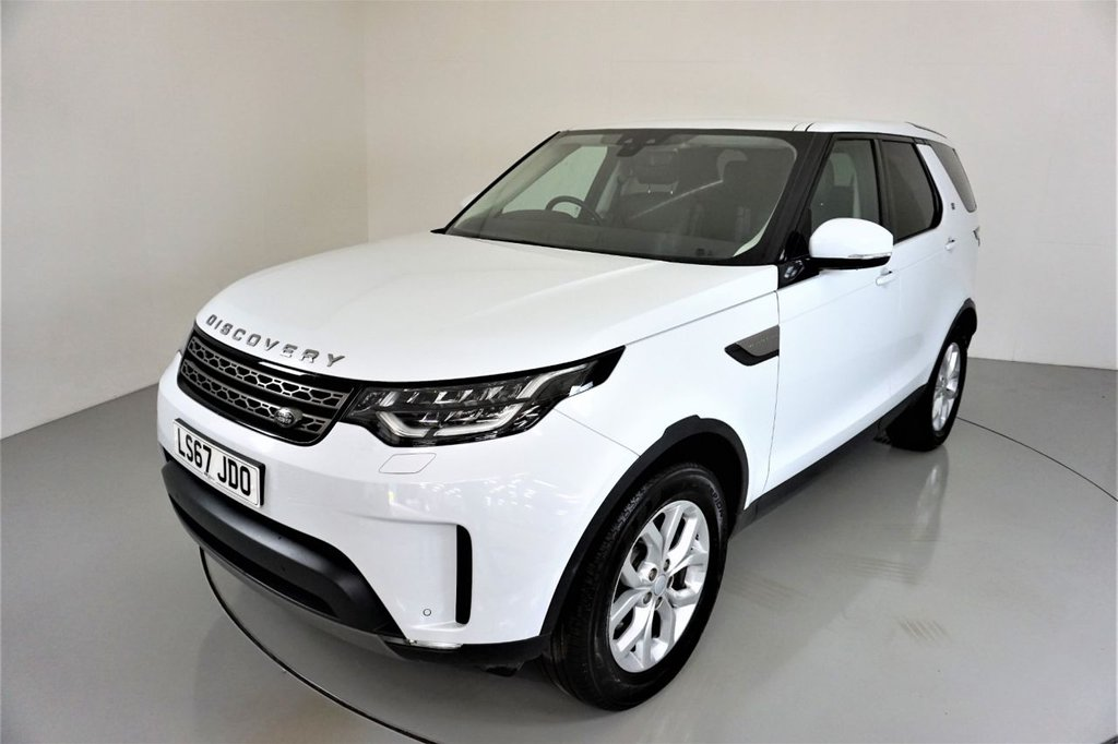 USED 2017 67 LAND ROVER DISCOVERY 5 2.0 SD4 SE 5d AUTO-YULONG WHITE-19