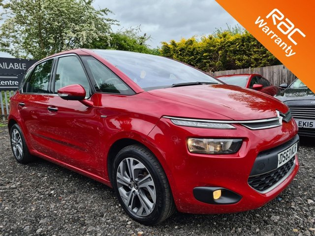 USED 2014 63 CITROEN C4 PICASSO 1.6 E-HDI AIRDREAM EXCLUSIVE 5d 113 BHP