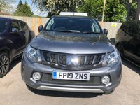USED 2019 19 MITSUBISHI L200 2.4 DI-D 4WD BARBARIAN 4dr 5 Seat 4x4 AUTO Double Cab Pickup with Specialist Truckman Rear Canopy with Racking and Shelving Fitted plus Towbar Side Steps Heated Leather Seats and much more One Owner From New