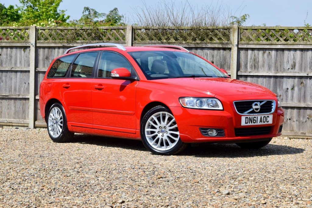 USED 2012 61 VOLVO V50 1.6 DRIVE SE LUX EDITION S/S 5d 113 BHP Free 12  month warranty