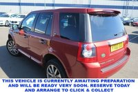 USED 2010 60 LAND ROVER FREELANDER 2 2.2 TD4 HSE 5d 5 Seat Family SUV 4x4 AUTO with Unbelievable Low Mileage Fantastice Service History Stunning Colour Combination and Massive High Spec Stunning in Rimini Red