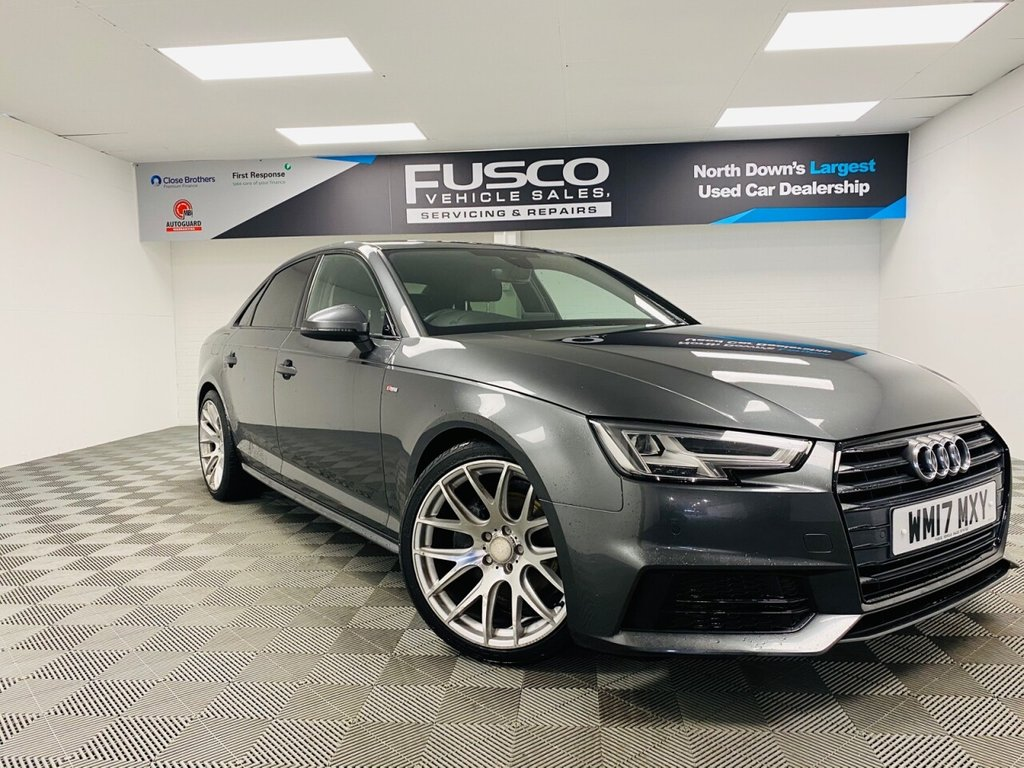 USED 2017 17 AUDI A4 2.0 TDI ULTRA S LINE 4d 188 BHP NATIONWIDE DELIVERY AVAILABLE!