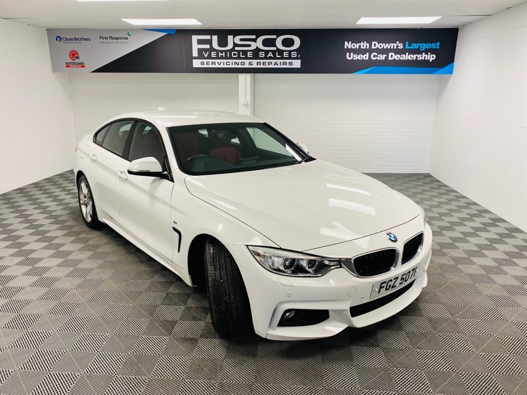 USED 2017 BMW 4 SERIES 2.0 420D M SPORT GRAN COUPE 4d 188 BHP NATIONWIDE DELIVERY AVAILABLE!
