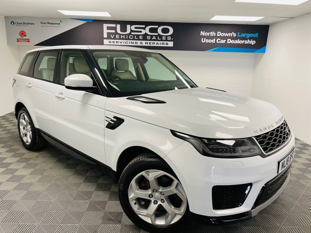 USED 2018 18 LAND ROVER RANGE ROVER SPORT 2.0 SD4 HSE 5d 238 BHP NATIONWIDE DELIVERY AVAILABLE!
