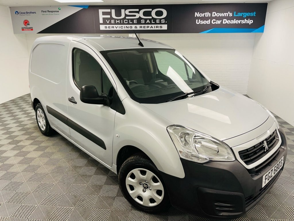 USED 2017 PEUGEOT PARTNER 1.6 BLUE HDI PROFESSIONAL L1 75 BHP VAT INCLUDED IN PRICE!