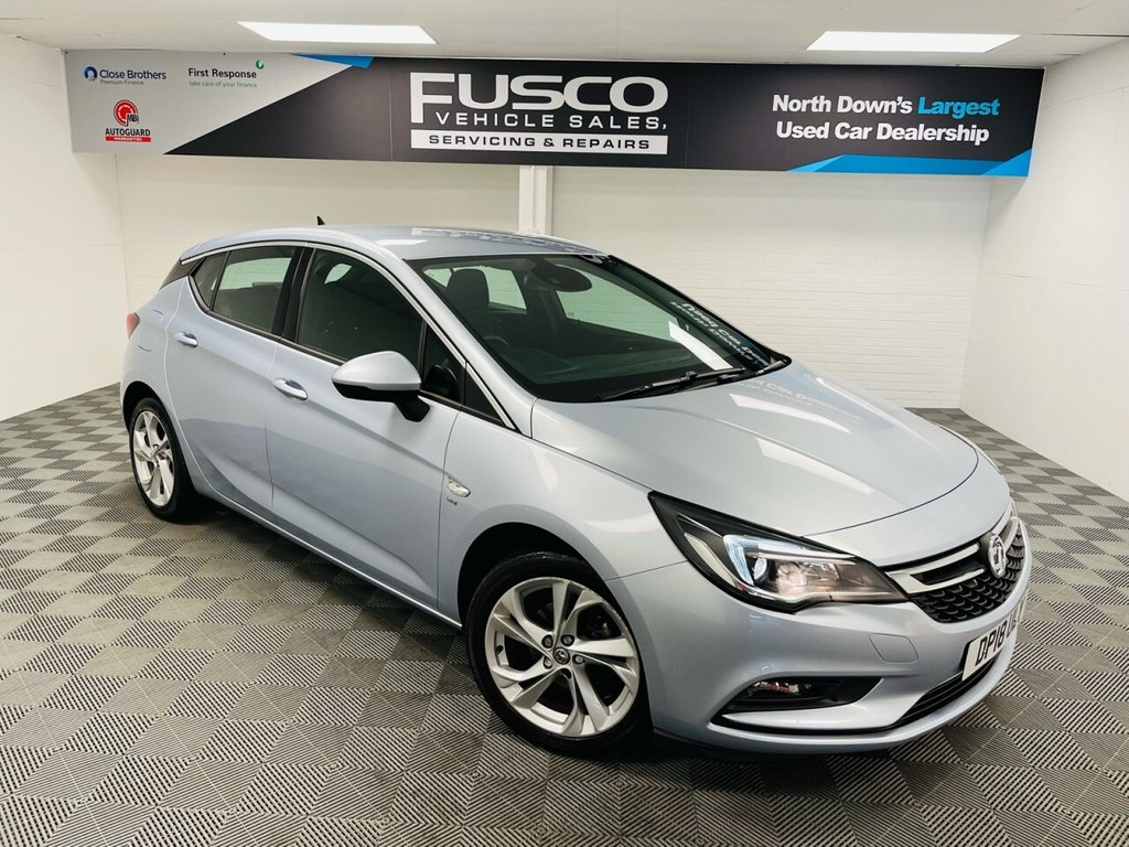 USED 2018 18 VAUXHALL ASTRA 1.0 SRI NAV ECOTEC S/S 5d 104 BHP NATIONWIDE DELIVERY AVAILABLE!