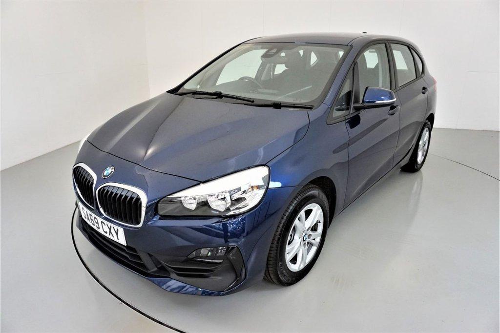 USED 2019 69 BMW 2 SERIES 2.0 220I SE ACTIVE TOURER 5d-LOW MILEAGE-BLUETOOTH-CRUISE CONTROL-SATNAV-REAR PARKING SENSORS-DAB RADIO-AIR CONDITIONING