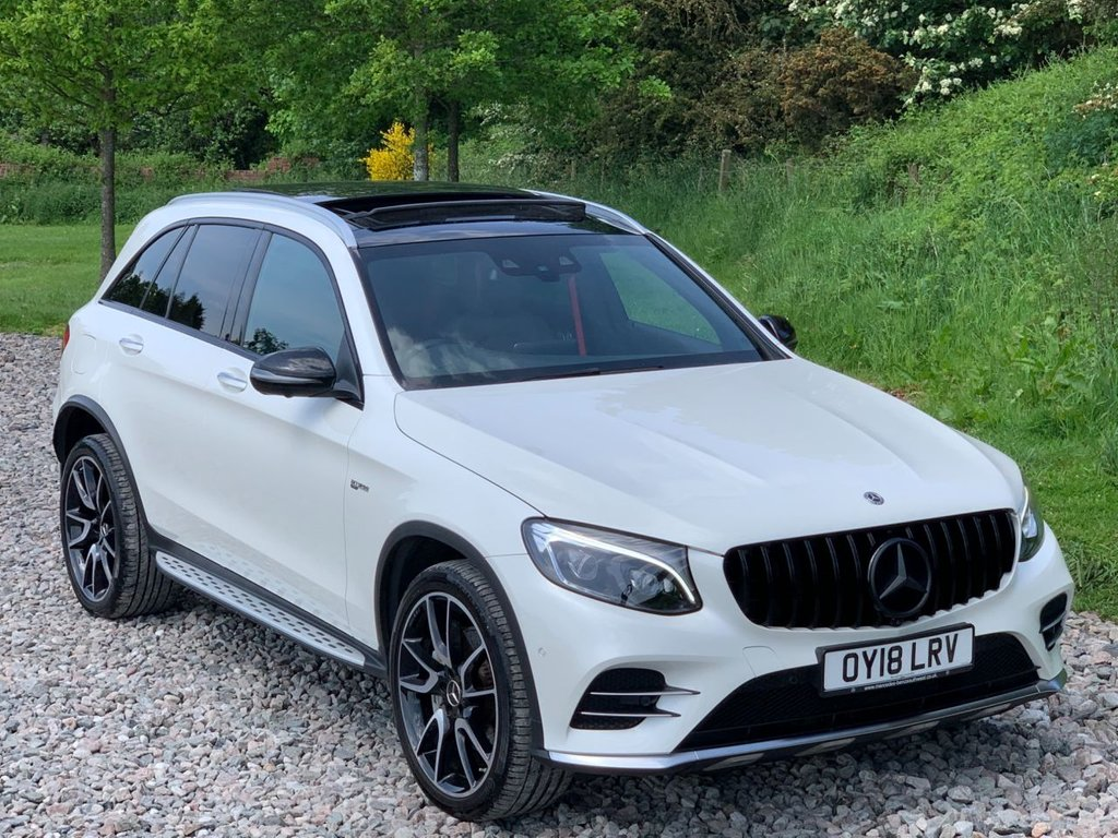 USED 2018 18 MERCEDES-BENZ GLC-CLASS 3.0 AMG GLC 43 4MATIC PREMIUM PLUS 5d 362 BHP Free Next Day Nationwide Delivery
