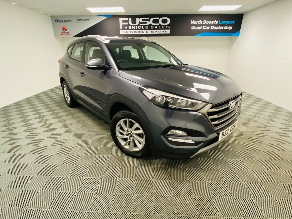 USED 2017 HYUNDAI TUCSON 1.6 GDI SE NAV BLUE DRIVE 5d 130 BHP NATIONWIDE DELIVERY AVAILABLE!