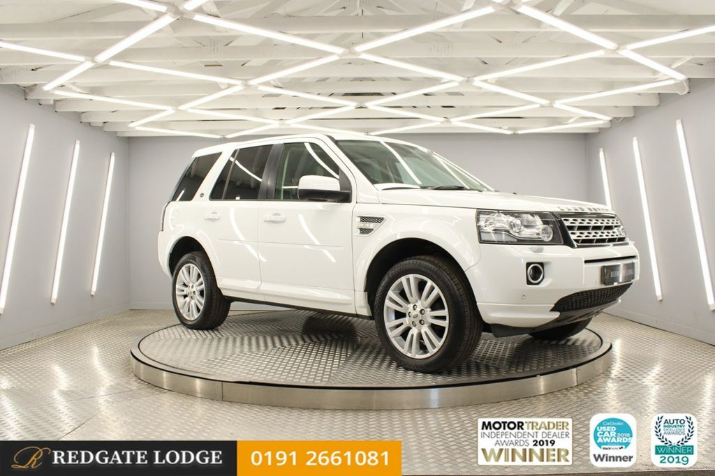 USED 2013 LAND ROVER FREELANDER SD4 HSE LUXURY SAT/NAV, PAN ROOF, DAB, BLUETOOTH, REVERSE CAMERA, DETACHABLE TOW BAR, HEATED LEATHER, MERIDIAN SOUND SYSTEM...