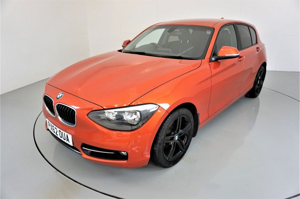 USED 2012 62 BMW 1 SERIES 2.0 116D SPORT 5d-17
