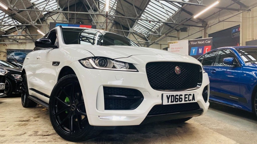 USED 2016 66 JAGUAR F-PACE 2.0d R-Sport Auto AWD (s/s) 5dr RSPORT+22S+BLACKPACK+STUNNER+