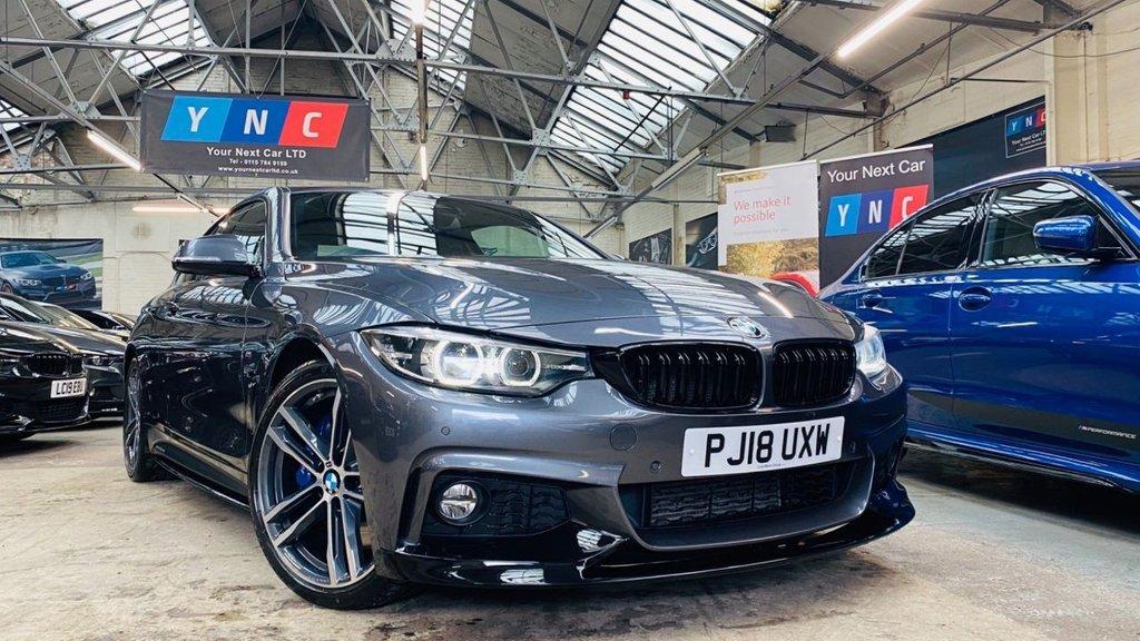 USED 2018 18 BMW 4 SERIES 3.0 430d M Sport Auto (s/s) 2dr PERFORMANCEKIT+HISPEC!+19S+