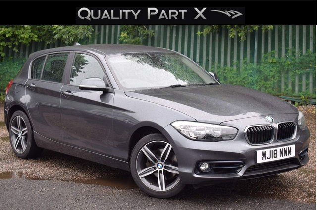 USED 2018 18 BMW 1 SERIES 2.0 120d Sport Sports Hatch (s/s) 5dr