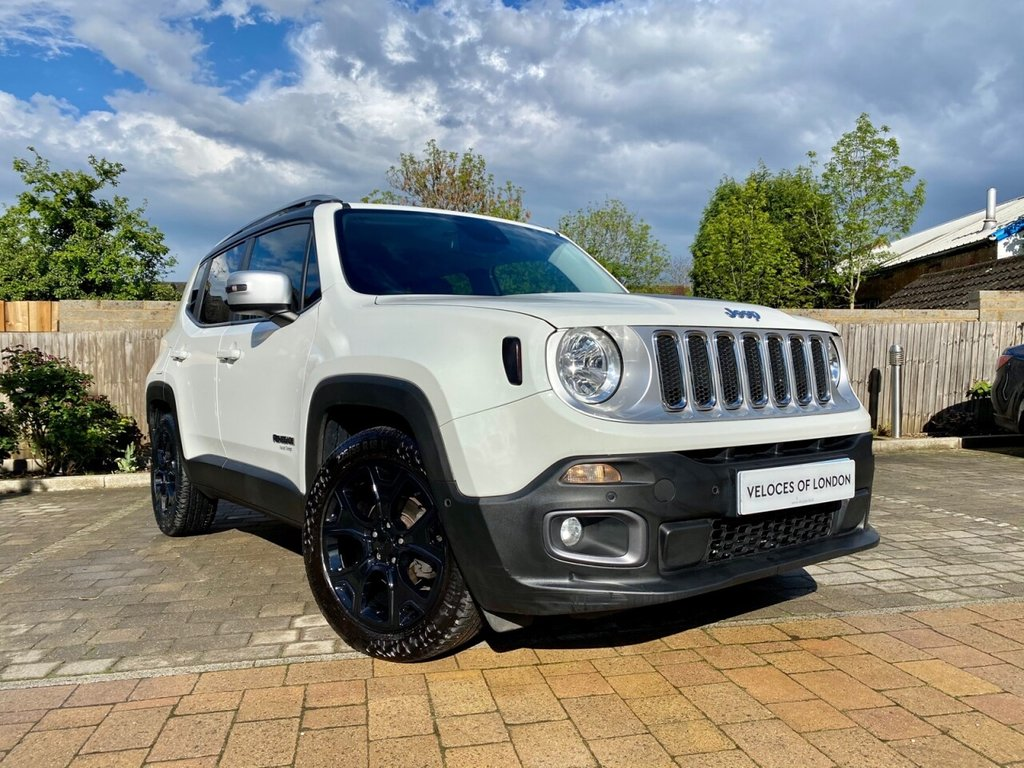 USED 2017 17 JEEP RENEGADE 1.4L LIMITED 5d AUTO 138 BHP AUTOMATIC WITH HEATED LEATHER SEATS