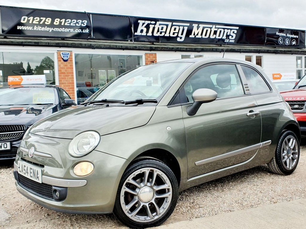 USED 2010 54 FIAT 500 1.4 BY DIESEL 3d 99 BHP PANORAMIC SUNROOF