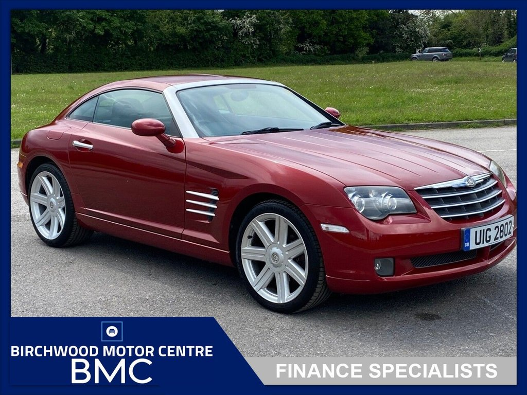 USED 2004 CHRYSLER CROSSFIRE 3.2 V6 2d 215 BHP. SERVICE HISTORY AVAILABLE!!!