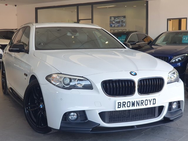 USED 2015 15 BMW 5 SERIES 2.0 520D M SPORT TOURING 5d 188 BHP BM PERFORMANCE STYLING+6.9%APR