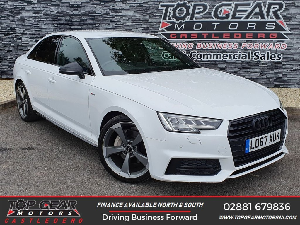 USED 2018 67 AUDI A4 2.0 TDI 190BHP BLACK EDITION S-T  ** OVER £2,900 + FACTORY FITTED EXTRAS, ALLOYS INCLUDED, FINANCE AVAILABLE **