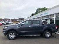 USED 2017 17 FORD RANGER 3.2 LIMITED 4X4 TDCI 4d 5 Seat Double Cab Pickup AUTO with NO VAT TO PAY Massive Spec Inc Front Rear Parking Sensors Towbar Side Steps Roll Top Cover Air Conditioning Sat Nav Bluetooth Cruise Control  NO VAT TO PAY