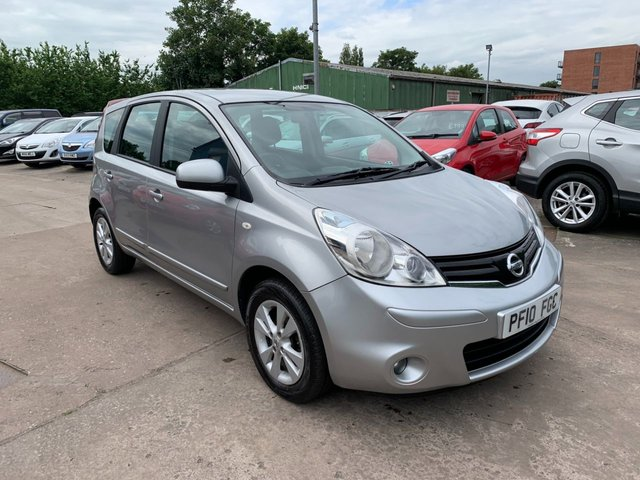 USED 2010 10 NISSAN NOTE 1.4 ACENTA 5d 88 BHP SERVICE HISTORY
