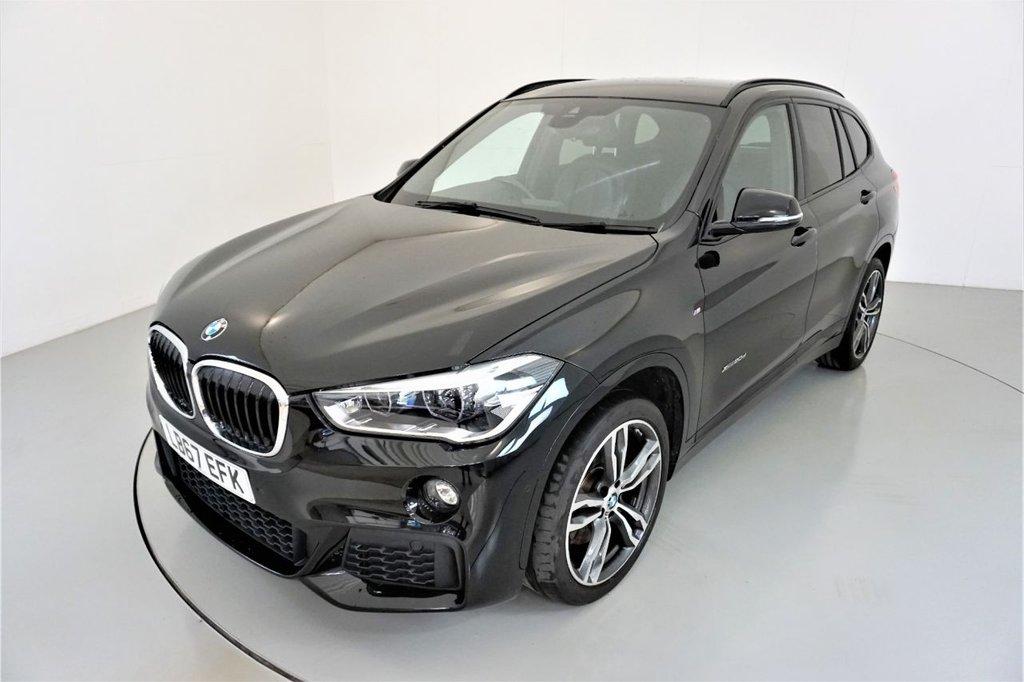 USED 2017 67 BMW X1 2.0 XDRIVE20D M SPORT 5d AUTO 188 BHP-1 OWNER CAR-19