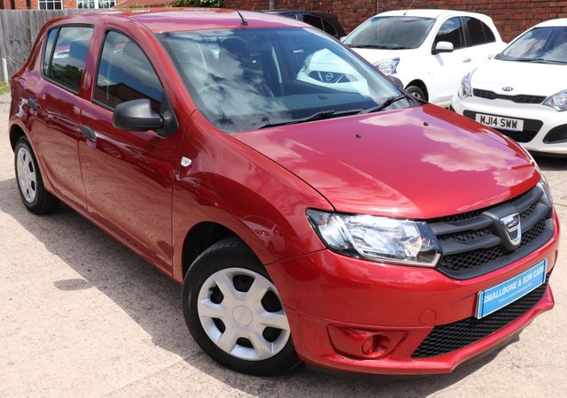 USED 2015 65 DACIA SANDERO 0.9 AMBIANCE TCE 5d 90 BHP * BUY ONLINE * FREE NATIONWIDE DELIVERY *