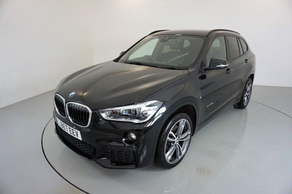 USED 2017 67 BMW X1 2.0 XDRIVE20D M SPORT 5d AUTO-1 OWNER CAR-19