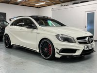 USED 2013 63 MERCEDES-BENZ A-CLASS 2.0 A45 AMG 7G-DCT 4MATIC 5dr