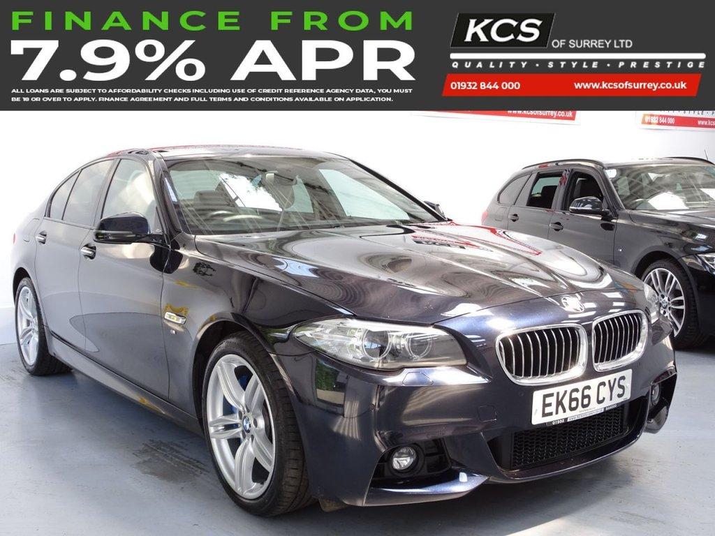 USED 2016 66 BMW 5 SERIES 3.0 530D M SPORT 4d 255 BHP PRO NAV - M-SPORT PLUS PACK