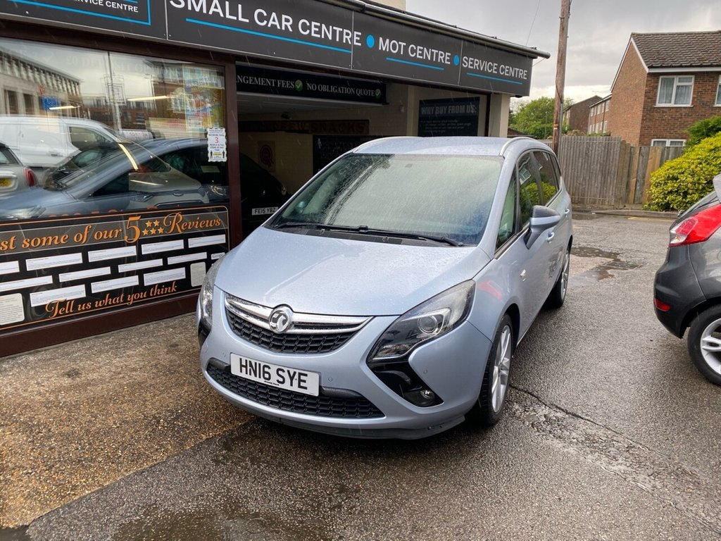 USED 2016 16 VAUXHALL ZAFIRA TOURER 2.0 SRI CDTI S/S 5d 168 BHP 7 SEATER - FRONT & REAR PARKING SENSORS - CRUISE CONTROL - BLUETOOTH - DAB -USB - HEATED FRONT SEATS