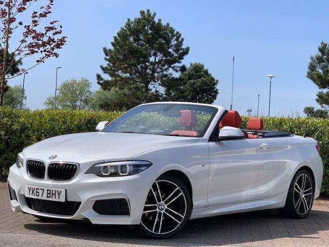 USED 2017 67 BMW 2 SERIES 1.5 218I M SPORT 2d 134 BHP