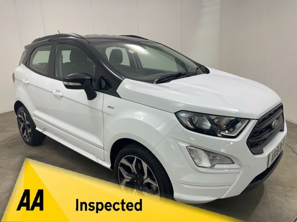 USED 2018 18 FORD ECOSPORT 1.0 ST-LINE 5d 124 BHP