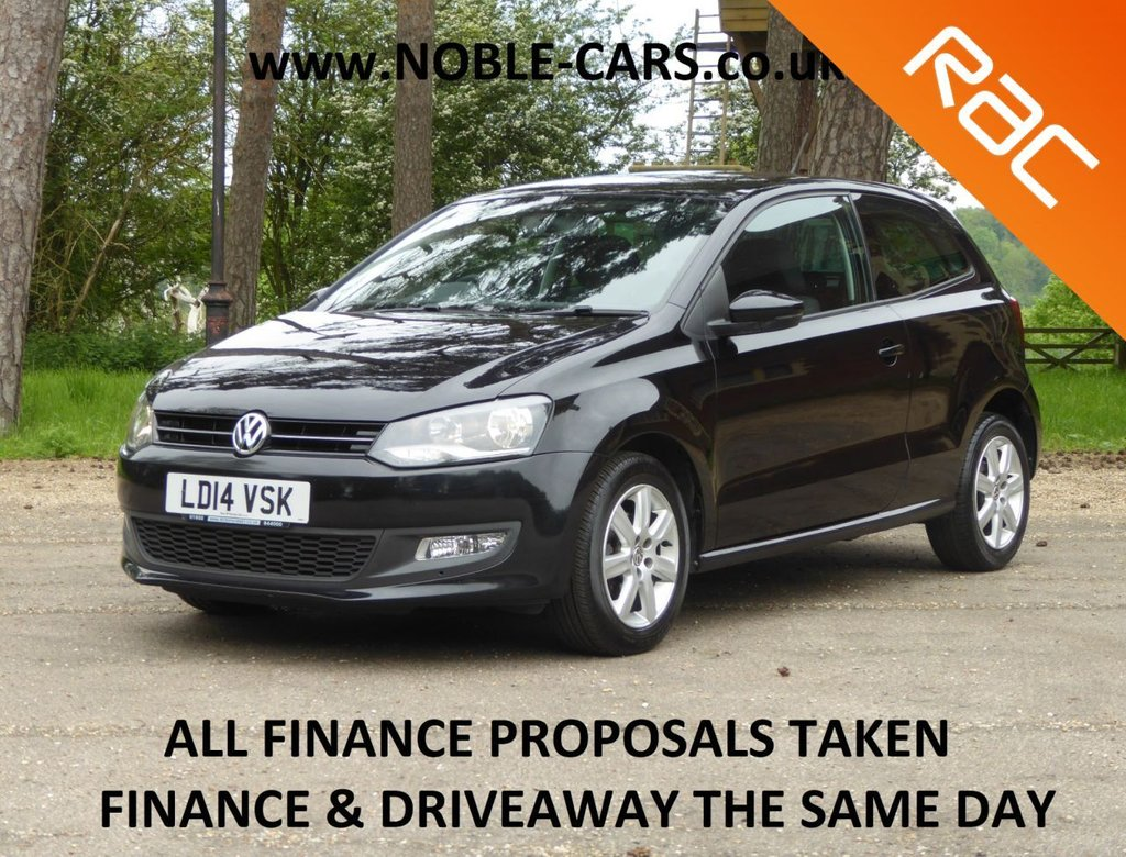 USED 2014 14 VOLKSWAGEN POLO 1.4 MATCH EDITION DSG 3d 83 BHP