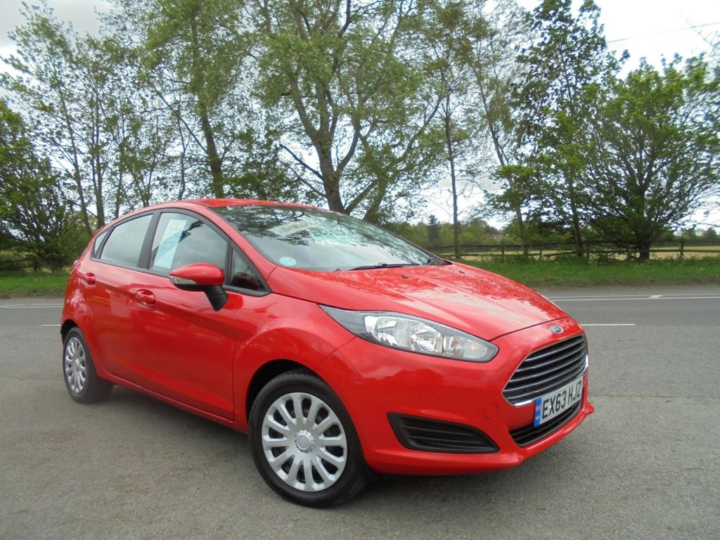 USED 2014 63 FORD FIESTA 1.5 STYLE TDCI 5d 74 BHP