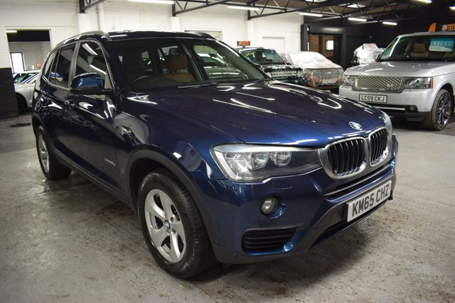 USED 2015 65 BMW X3 2.0 XDRIVE20D SE 5d 188 BHP 4X4 AUTO LOVELY CONDITION - XDRIVE 4X4 - AUTO - 5 BMW SERVICES TO 92K - FULL LEATHER - SAT NAV - HEATED SEATS - PRIVACY GLASS