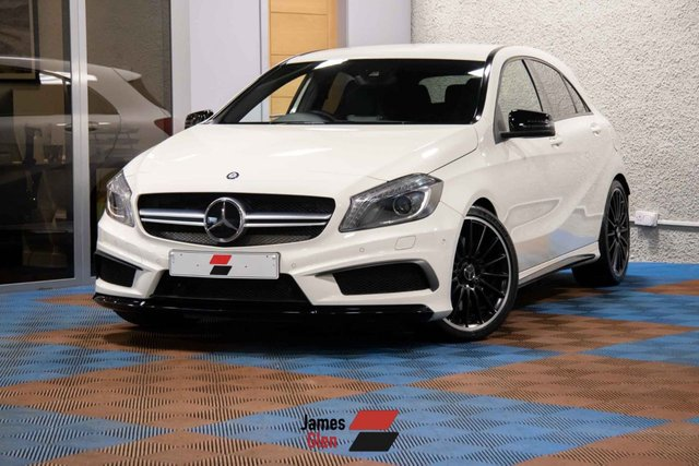 USED 2013 63 MERCEDES-BENZ A-CLASS 2.0 A45 AMG 4MATIC 5d 360 BHP Two Owners | 7-Stamp Mercedes History