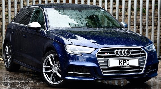 USED 2017 17 AUDI S3 2.0 TFSI Sportback S Tronic quattro (s/s) 5dr Tech & Comfort Pack, F/A/S/H