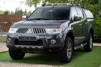 USED 2011 11 MITSUBISHI L200 2.5 DI-D 4X4 WARRIOR LB DCB 0d 175 BHP A Really Nice Example with Only Onre Previous Owner and Full Service History with a Brand New Clutch Just Fitted, Rear Canopy Fitted and Towbar and Electrics