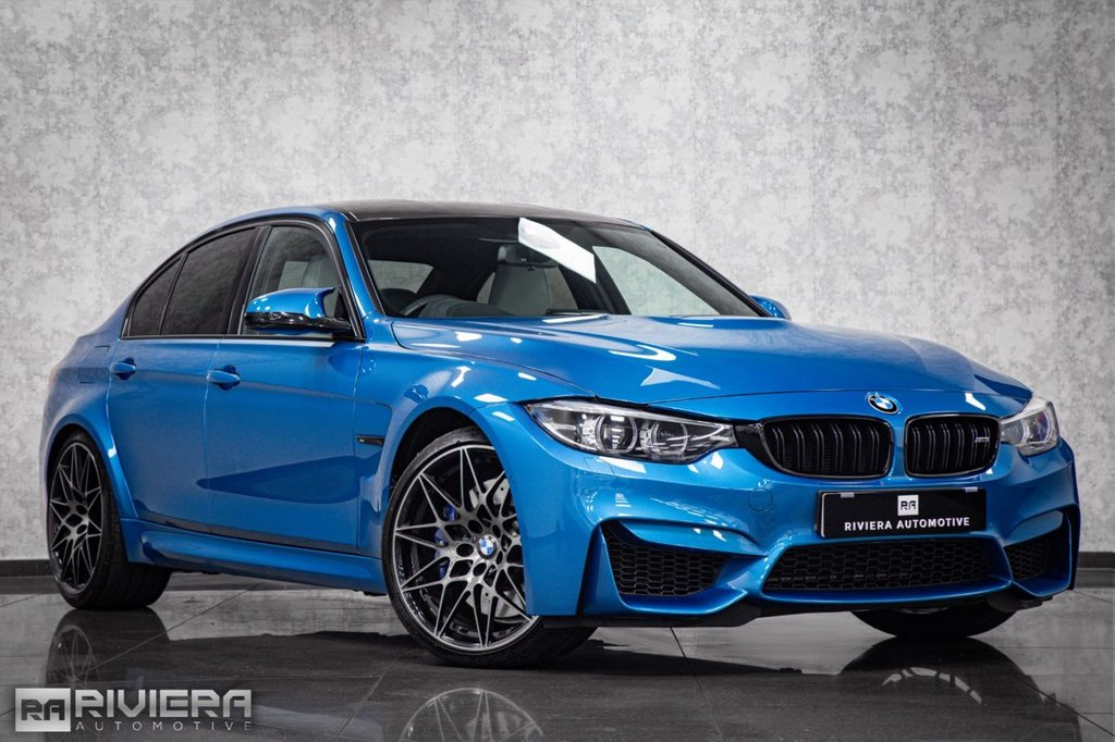 USED 2018 18 BMW M3 3.0 M3 COMPETITION PACKAGE 4d 444 BHP
