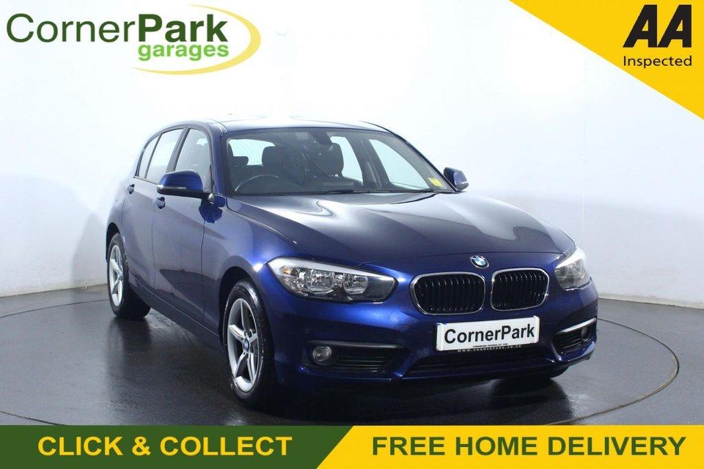 USED 2018 18 BMW 1 SERIES 1.5 116D SE 5d 114 BHP