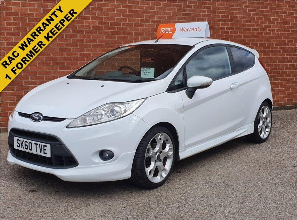 USED 2010 60 FORD FIESTA 1.6 ZETEC S 3d 118 BHP RAC WARRANTY- SUPERB CONDITION