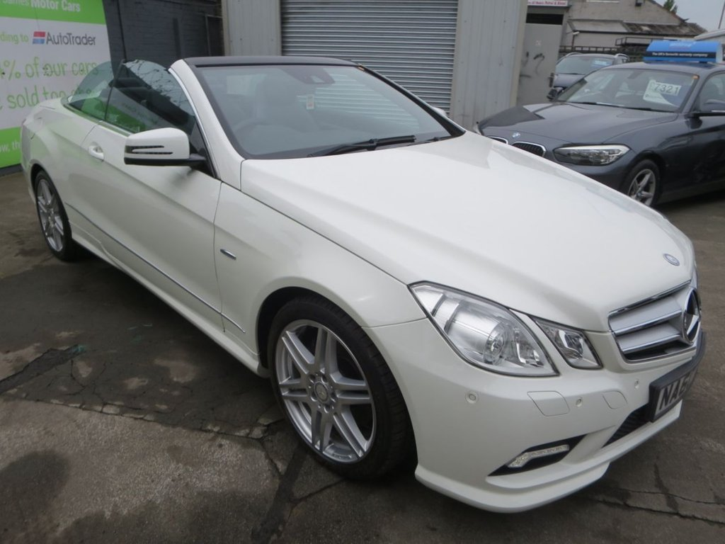 USED 2010 60 MERCEDES-BENZ E-CLASS 2.1 E220 CDI BLUEEFFICIENCY SPORT 2d 170 BHP * FINANCE AND UK DELIVERY AVAILABLE! *