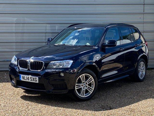 USED 2014 14 BMW X3 2.0 XDRIVE20D M SPORT 5d 181 BHP Rear Seat Heating - Navigation